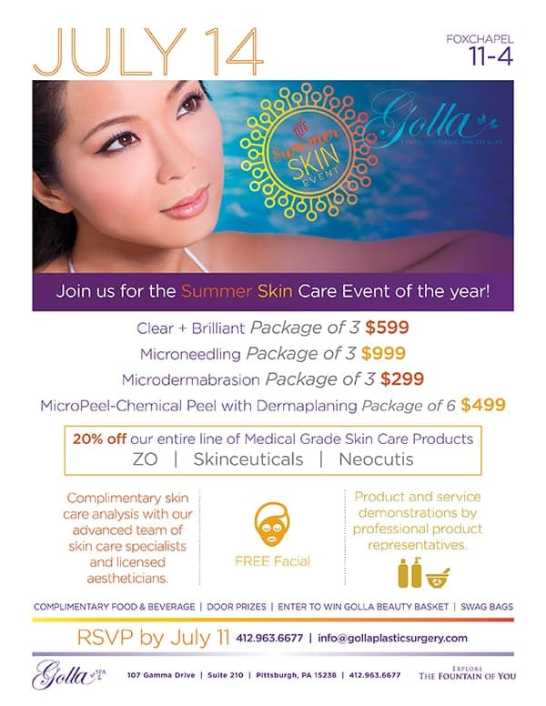 Summer Skin Care Event